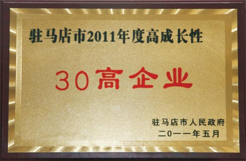 2011年度高成长性企业